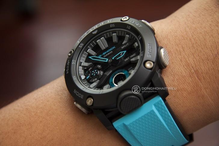 Đồng hồ G-Shock GA-2000-1A2DR tích hợp hàng loạt tính năng thể thao - Ảnh 4