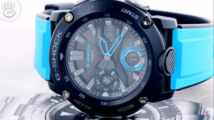 Đồng hồ G-Shock GA-2000-1A2DR tích hợp hàng loạt tính năng thể thao - Ảnh 6