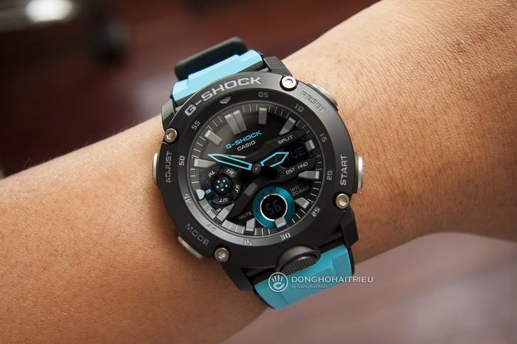 Đồng hồ G-Shock GA-2000-1A2DR tích hợp hàng loạt tính năng thể thao - Ảnh 7