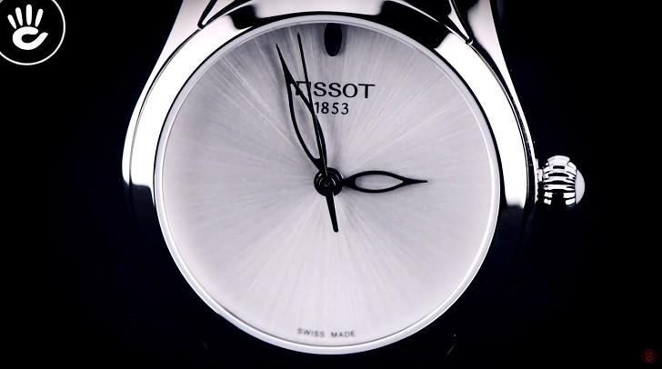 Khám phá chi tiết khảm xà cừ trên Tissot T112.210.11.031.00 - Ảnh 2