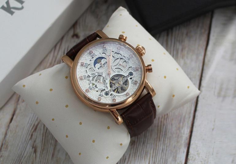 đồng hồ Kinyued cơ 6 kim