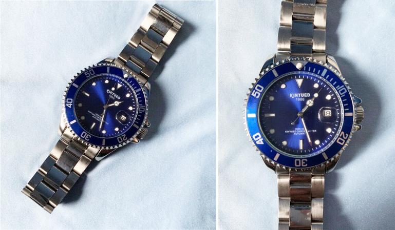 đồng hồ Kinyued homage Rolex Submariner