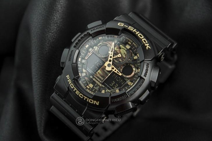 Mẫu G-Shock GA-100CF-1A9DR | Hơn 10 Tính Năng | Có Tachymeter - Ảnh: 6