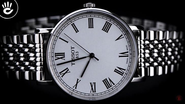 Đồng hồ Tissot T109.210.11.033.00 siêu mỏng, giá bình dân - Ảnh: 1