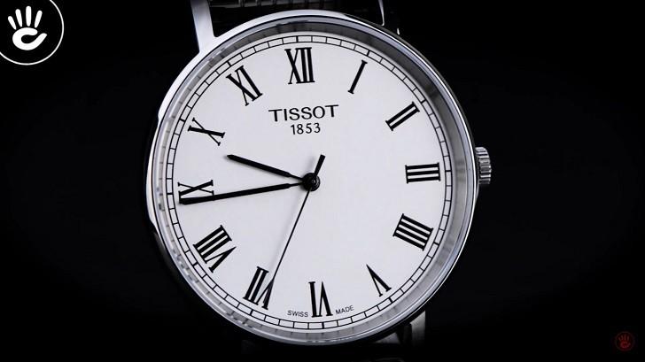 Đồng hồ Tissot T109.210.11.033.00 siêu mỏng, giá bình dân - Ảnh: 5
