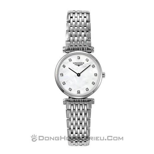 10 mẫu đồng hồ xà cừ, đính kim cương cho phụ nữ trung niên - Ảnh: Longines L4.209.4.87.6