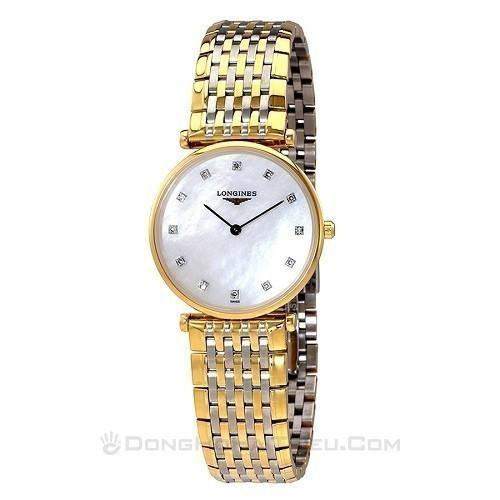 10 mẫu đồng hồ xà cừ, đính kim cương cho phụ nữ trung niên - Ảnh: Longines L4.512.2.87.7