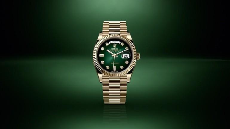 5 hãng đồng hồ nam automatic (Thụy Sỹ) nổi tiếng về đính kim cương - Ảnh: 7