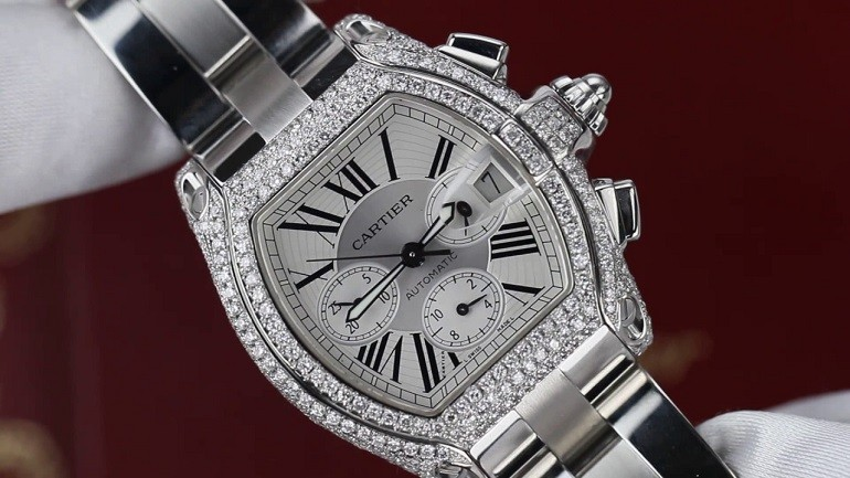 5 hãng đồng hồ nam automatic (Thụy Sỹ) nổi tiếng về đính kim cương - Ảnh: 5