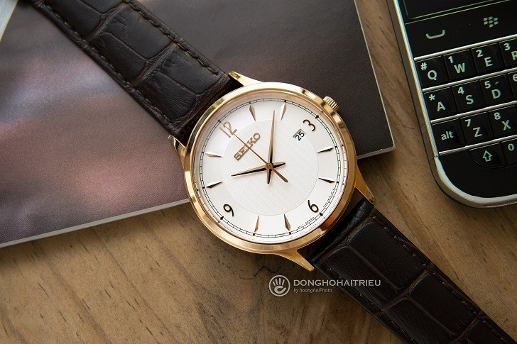 Seiko SGEH88P1 đồng hồ thời trang chịu nước đến 10 ATM - Ảnh 4