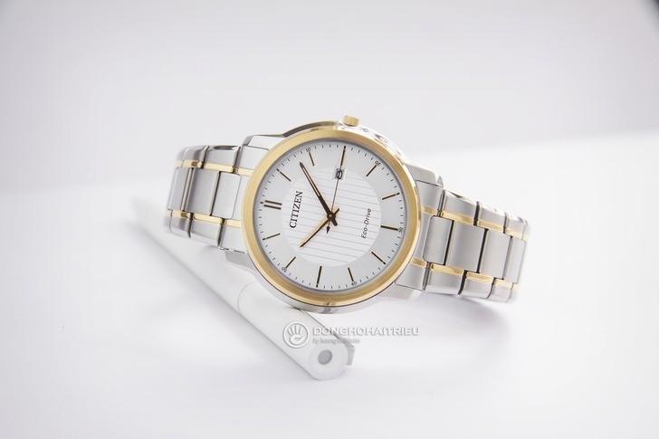 đồng hồ Citizen AW1216-86A: Phong cách giản dị cho văn phòng - Ảnh 1