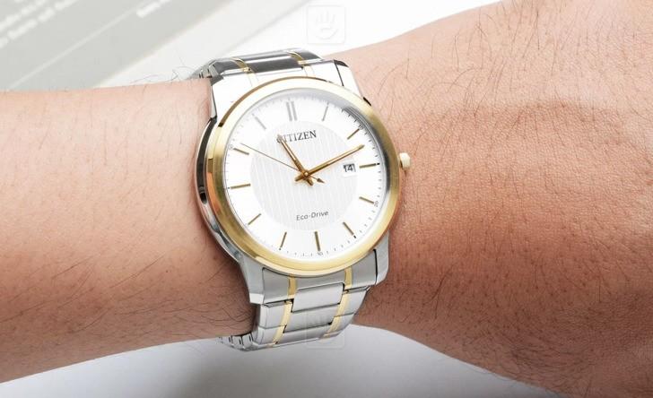 đồng hồ Citizen AW1216-86A: Phong cách giản dị cho văn phòng - Ảnh 2