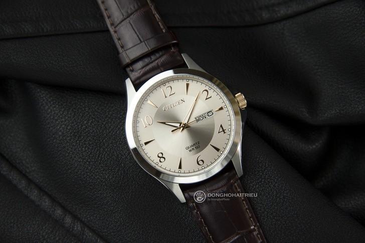 Đồng hồ Citizen BF2009-29X giá rẻ, được thay pin miễn phí - Ảnh 1