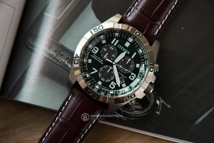 Đồng hồ Citizen BL5551-06L năng lượng ánh sáng độc quyền - Ảnh 1