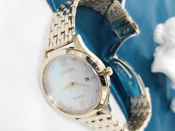 Đồng hồ Citizen EW2533-89D tích hợp năng lượng ánh sáng - Ảnh 3