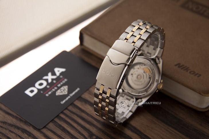 Đánh giá nhanh đồng hồ Doxa D135TWH | Swiss Made Thụy Sỹ - Ảnh: 2