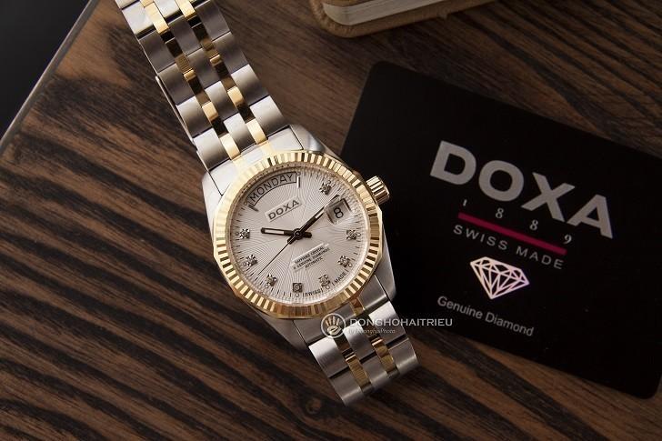 Đánh giá nhanh đồng hồ Doxa D135TWH | Swiss Made Thụy Sỹ - Ảnh: 3