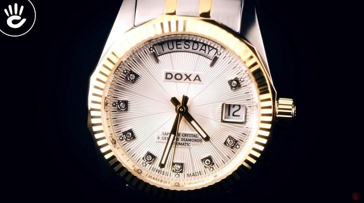 Đánh giá nhanh đồng hồ Doxa D135TWH | Swiss Made Thụy Sỹ - Ảnh: 5