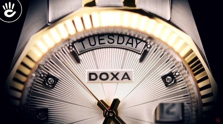 Đánh giá nhanh đồng hồ Doxa D135TWH | Swiss Made Thụy Sỹ - Ảnh: 6
