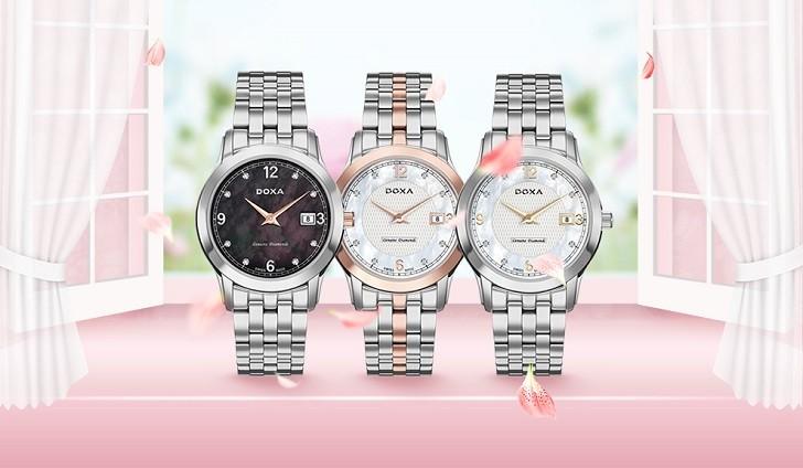 Đánh giá nhanh đồng hồ Doxa D168RWH | Doxa Executive - Ảnh: 1