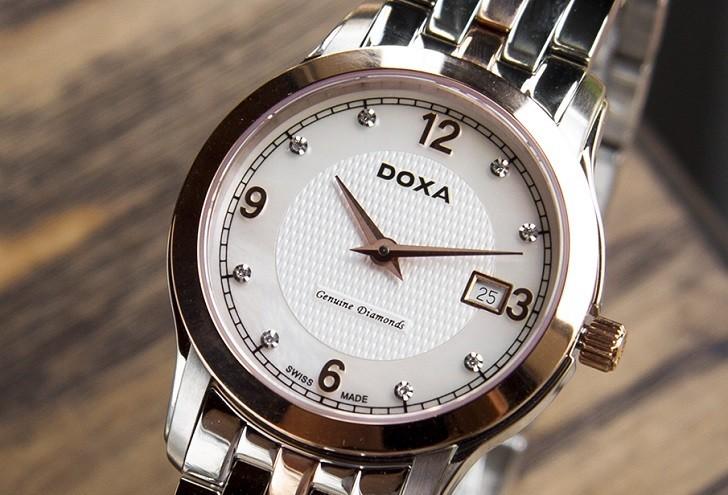 Đánh giá nhanh đồng hồ Doxa D168RWH | Doxa Executive - Ảnh: 2