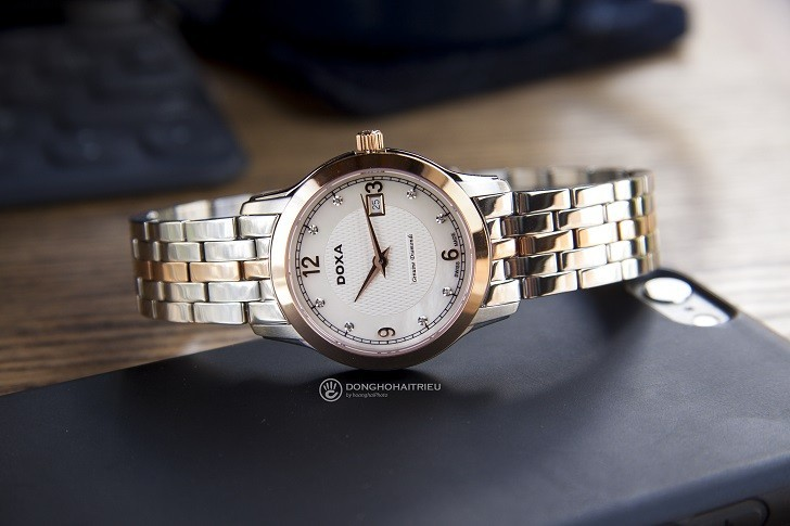 Đánh giá nhanh đồng hồ Doxa D168RWH | Doxa Executive - Ảnh: 4