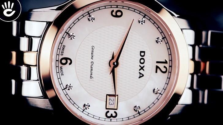 Đánh giá nhanh đồng hồ Doxa D168RWH | Doxa Executive - Ảnh: 5