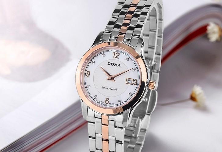 Đánh giá nhanh đồng hồ Doxa D168RWH | Doxa Executive - Ảnh: 7