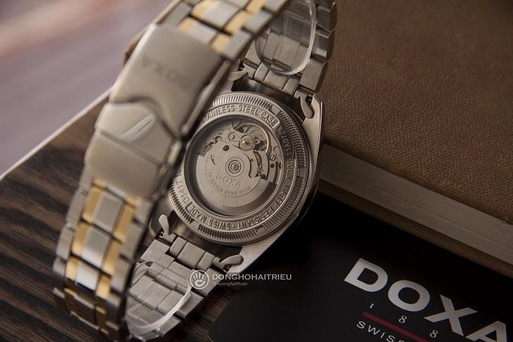 Đồng hồ Doxa D141TWH: vành khía, máy cơ, kính cyclops,... - Ảnh: 4