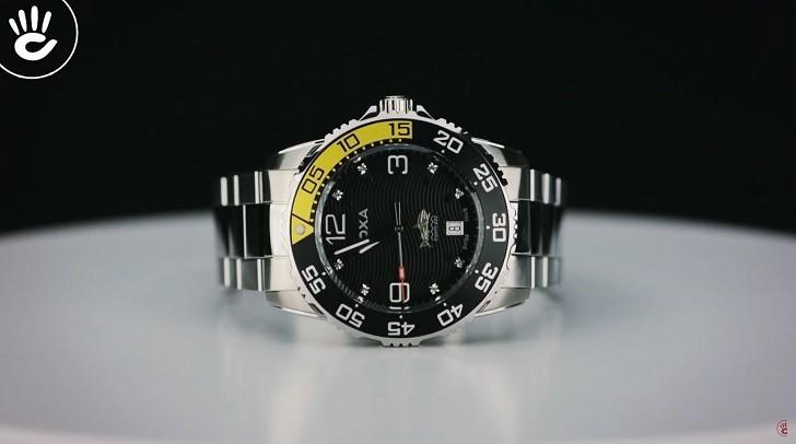 Đồng hồ Doxa D162SBY có bezel xoay, dạ quang Super-LumiNova - Ảnh: 4