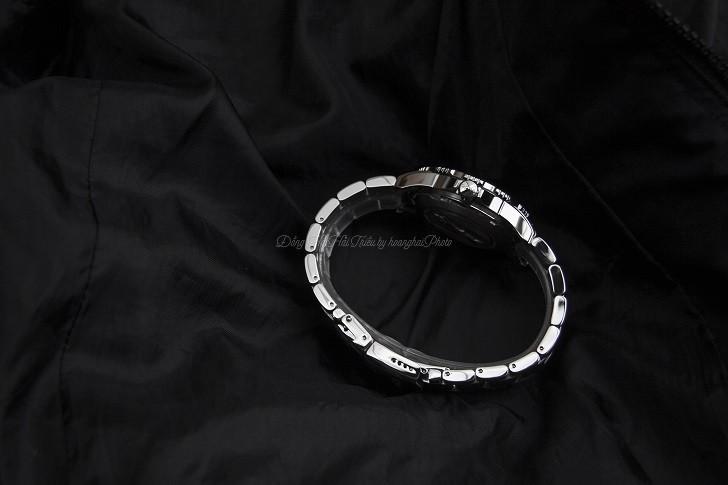 Đồng hồ Doxa D162SBY có bezel xoay, dạ quang Super-LumiNova - Ảnh: 6