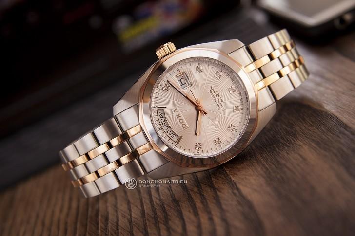 Đồng hồ Doxa D175RWH máy Automatic, đính 8 viên kim cương - Ảnh: 1