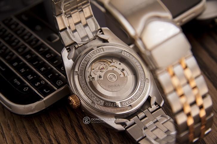 Đồng hồ Doxa D175RWH máy Automatic, đính 8 viên kim cương - Ảnh: 3