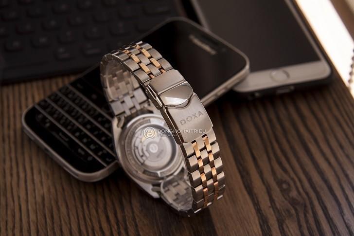 Đồng hồ Doxa D175RWH máy Automatic, đính 8 viên kim cương - Ảnh: 4