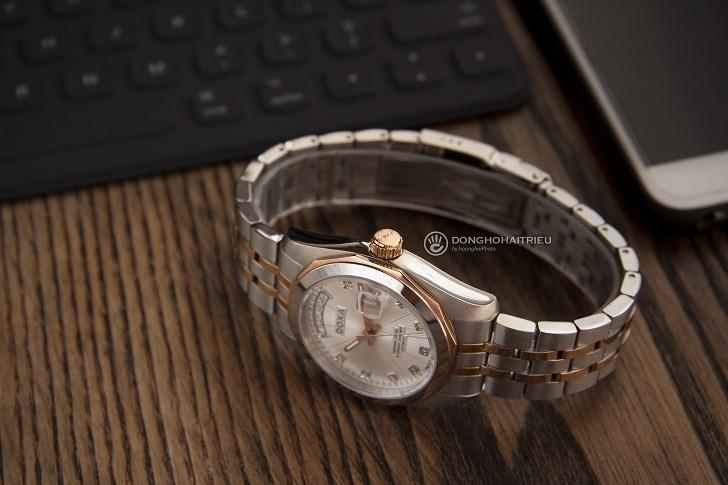 Đồng hồ Doxa D175RWH máy Automatic, đính 8 viên kim cương - Ảnh: 5