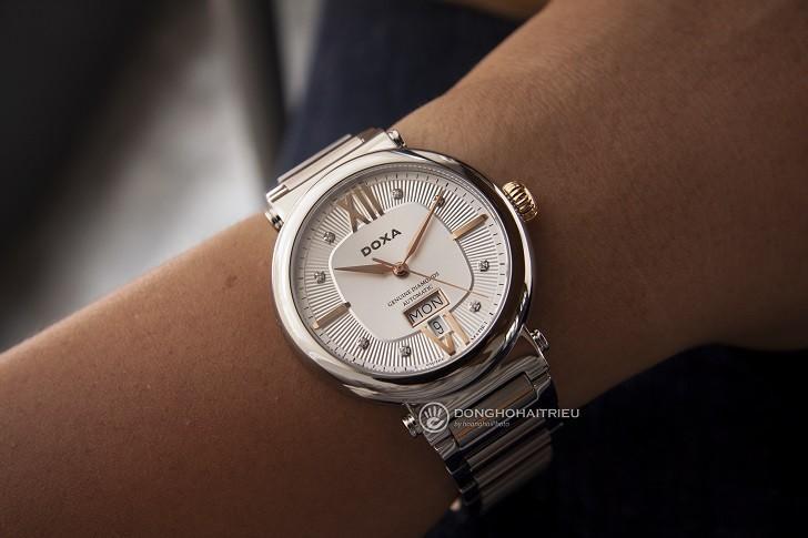 Đồng hồ Doxa D183RSD máy cơ Thụy Sỹ dành cho nam - Ảnh: 10