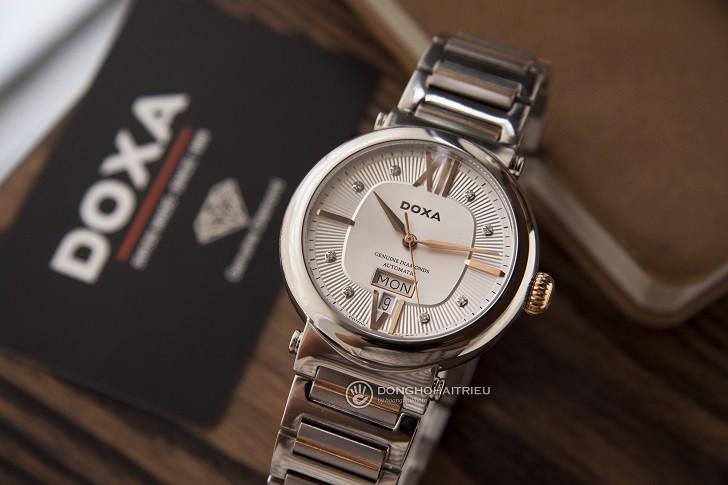 Đồng hồ Doxa D183RSD máy cơ Thụy Sỹ dành cho nam - Ảnh: 6