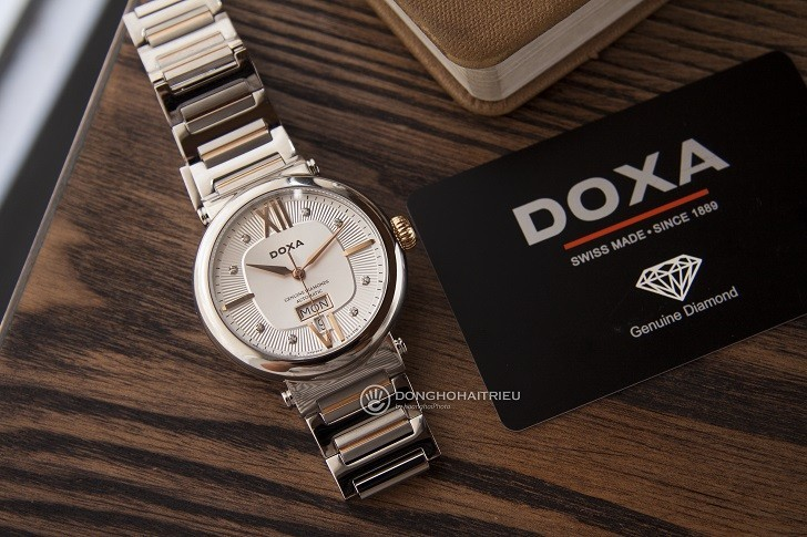 Đồng hồ Doxa D183RSD máy cơ Thụy Sỹ dành cho nam - Ảnh: 9