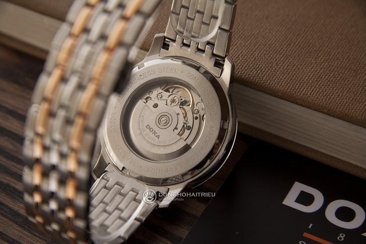 Đồng hồ Doxa D220RSV máy cơ, đính 14 viên kim cương thật - Ảnh: 2