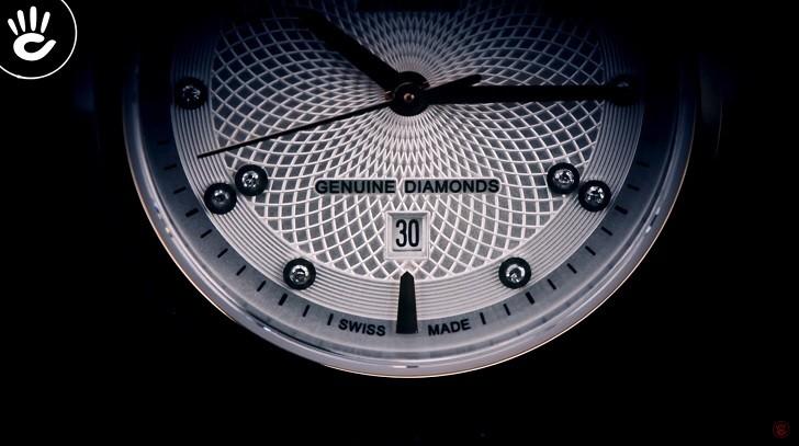 Đồng hồ Doxa D220RSV máy cơ, đính 14 viên kim cương thật - Ảnh: 3