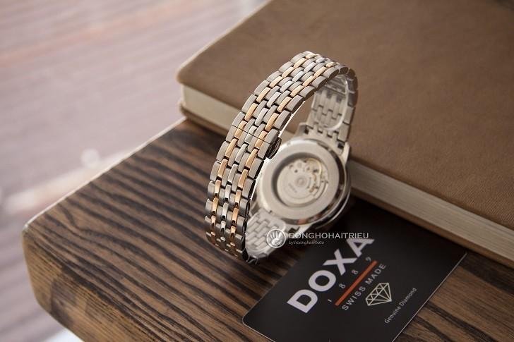 Đồng hồ Doxa D220RSV máy cơ, đính 14 viên kim cương thật - Ảnh: 7
