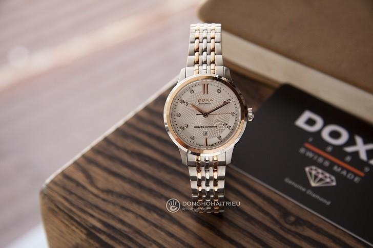 Đồng hồ Doxa D221RSV (Thụy Sỹ) máy cơ dành cho nữ - Ảnh: 2