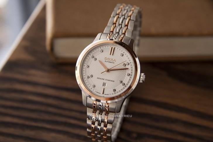 Đồng hồ Doxa D221RSV (Thụy Sỹ) máy cơ dành cho nữ - Ảnh: 6