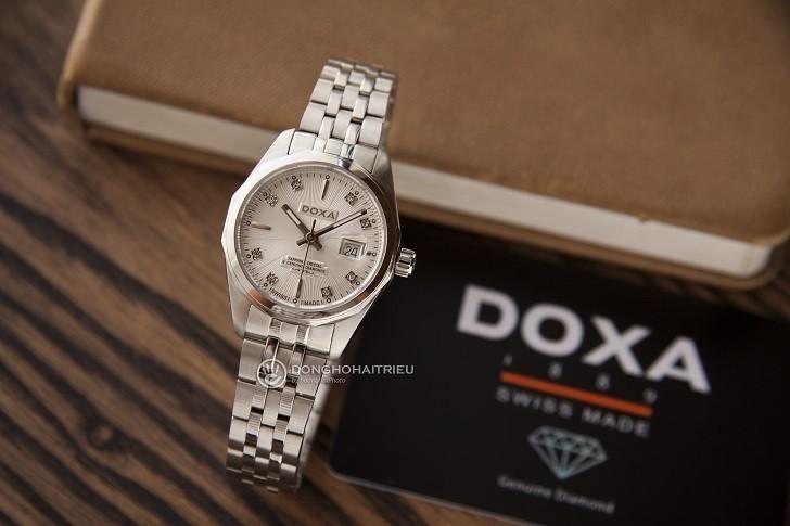 Đồng Hồ Thụy Sỹ Doxa D176SWH Có Hàng Loạt Chi Tiết Đắt Giá Hình 1