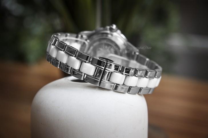 Doxa D151SMW đính 12 viên ngọc trai, 11 viên kim cương thật - Ảnh: 7