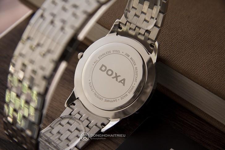 Lý do đồng hồ Doxa D157SBK máy quartz, giá hơn 18 triệu - Ảnh: 4