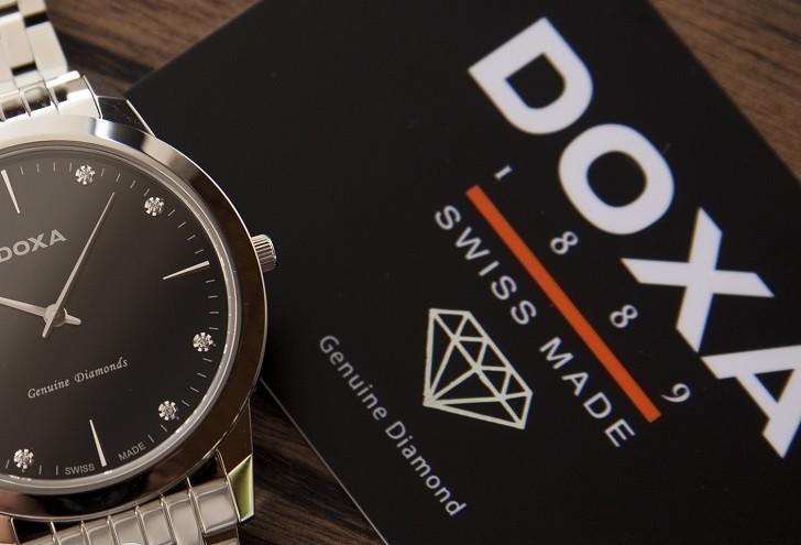 Lý do đồng hồ Doxa D157SBK máy quartz, giá hơn 18 triệu - Ảnh: 6