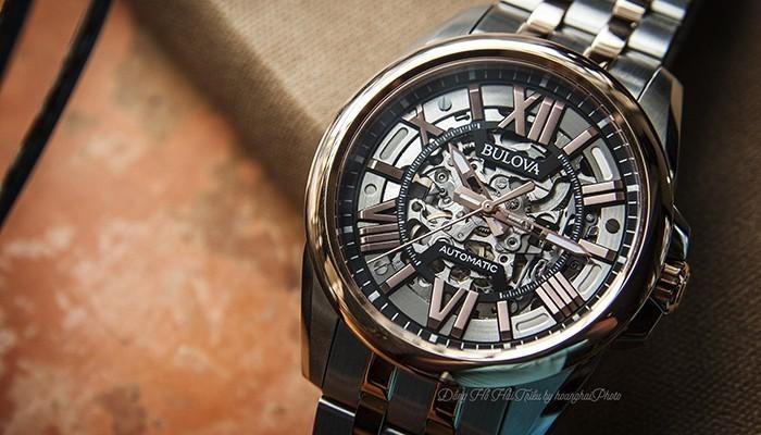 Một mẫu đồng hồ Bulova như thế này, rất thích hợp cho người đàn ông thành đạt