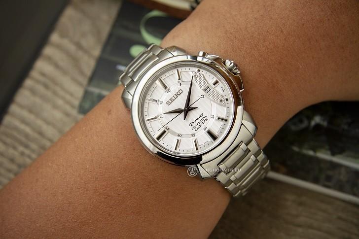 Seiko SNQ155P1 mẫu đồng hồ thể thao từ BST Seiko Premier - Ảnh 2