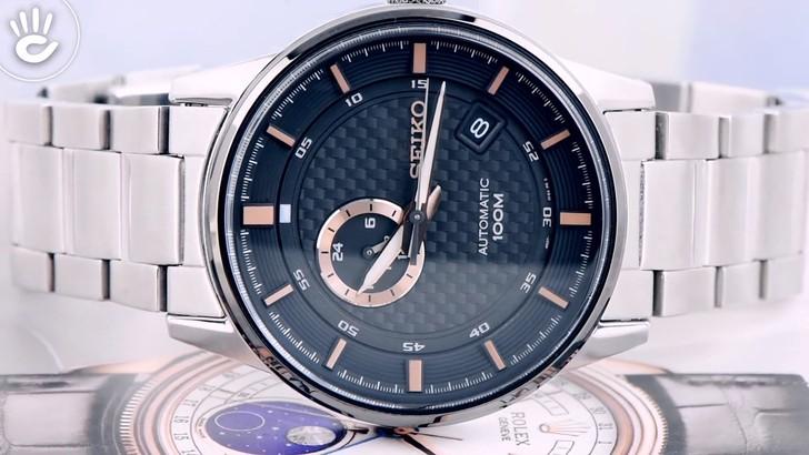 Đồng hồ Seiko SSA389K1 Automatic, trữ cót lên đến 40 giờ - Ảnh 5